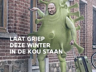 Infofiche Laat griep deze winter in de kou staan