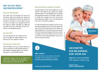 Vaccinaties zijn belangrijk, ook voor jou