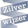 Zilverwijzer logo grijs